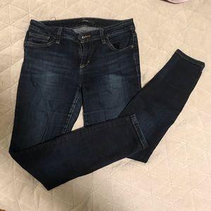 Joe's Dark Wash Skinny Ankle Jeans - EUC